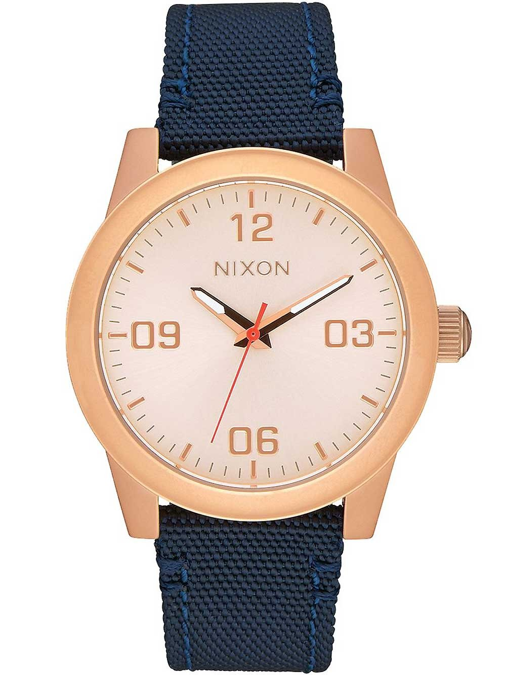 ceas de dama nixon a964-2160 g.i. leather 38mm 10atm