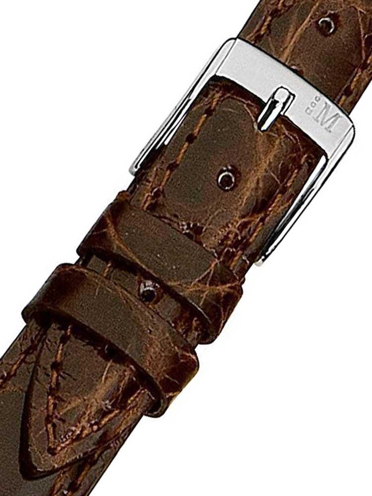 Curea de ceas Morellato A01X2197052034CR18 braunes Krokodil Uhren18mm