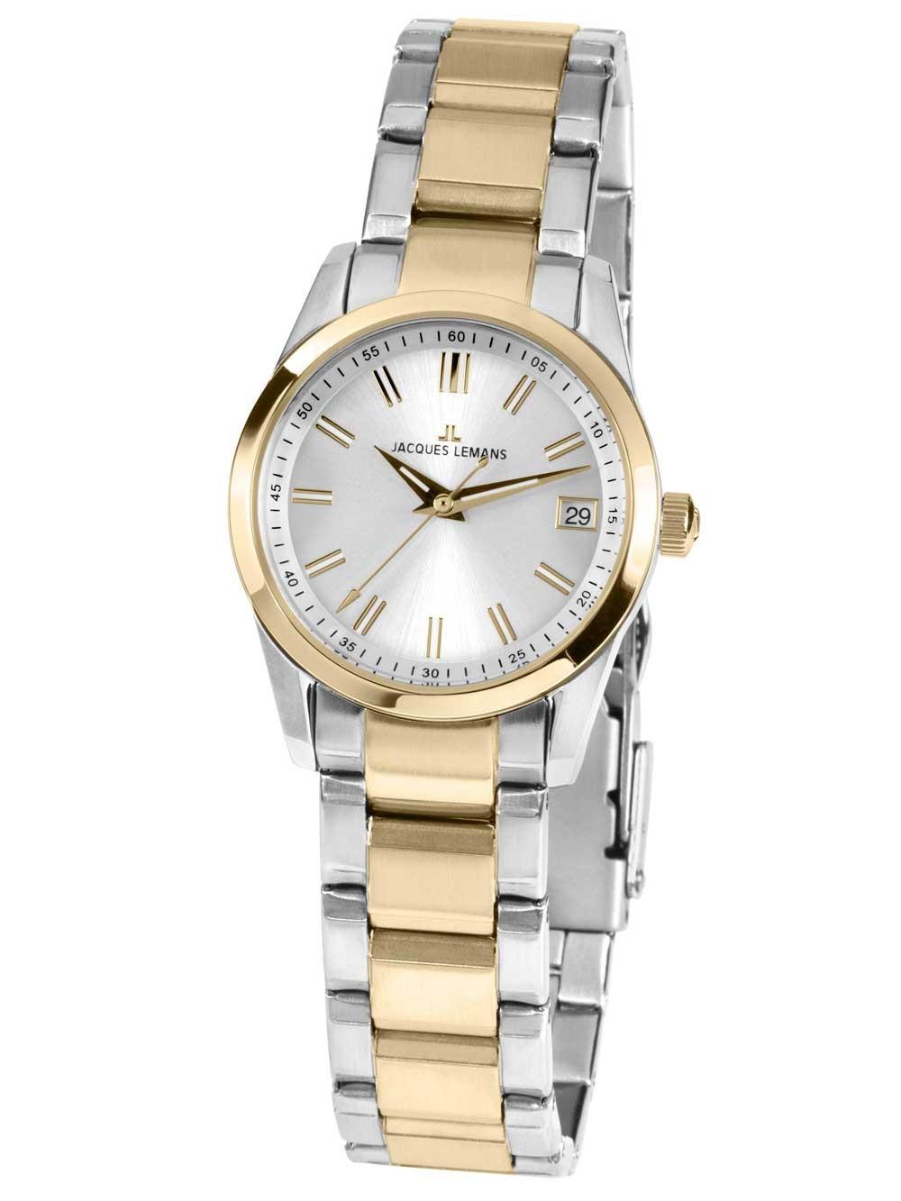 ceas de dama jacques lemans 1-1811d liverpool 30mm 10atm
