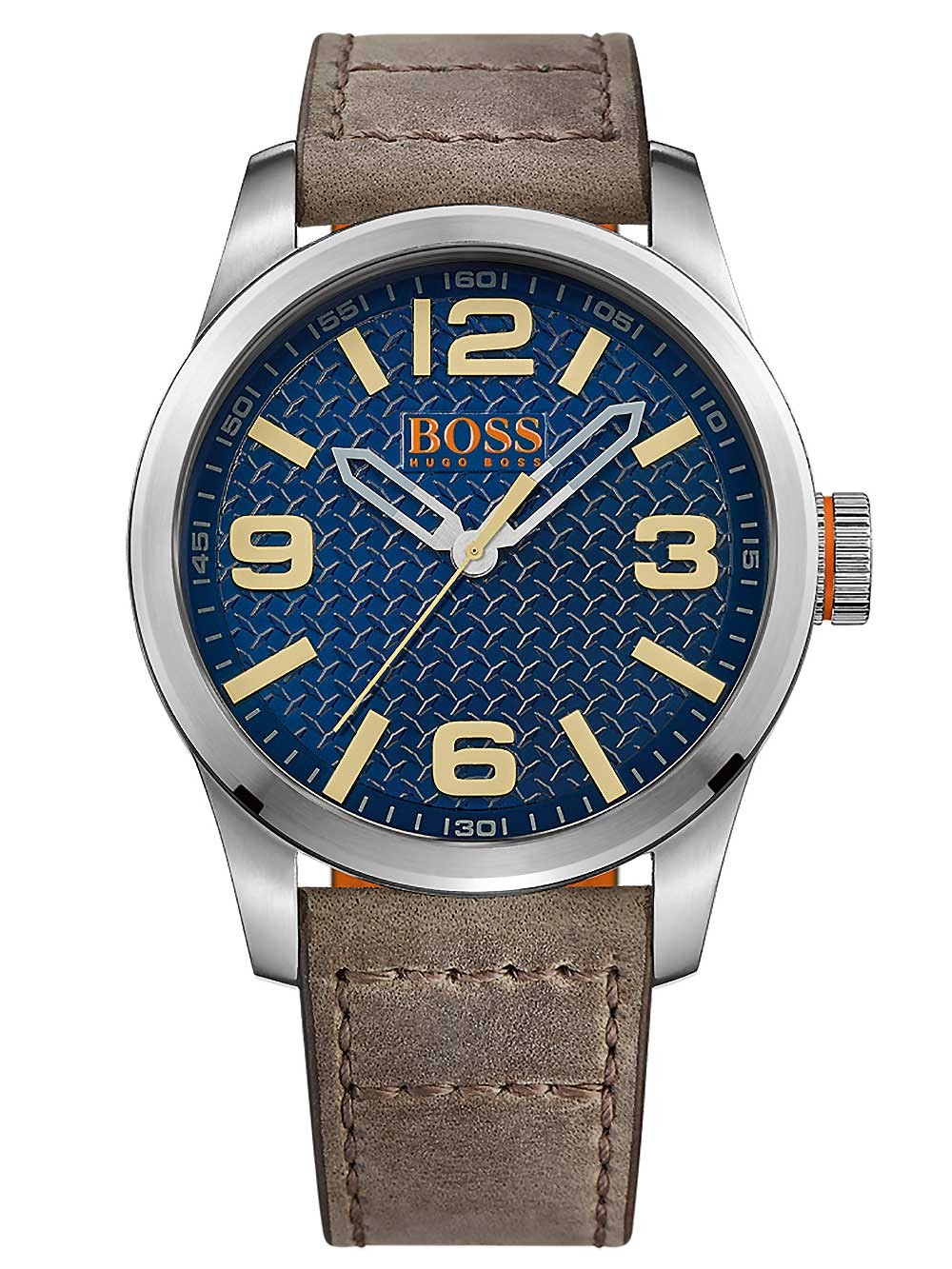 ceas barbatesc hugo boss orange 1513352 paris 3atm 47mm