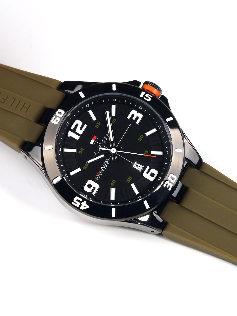 watches chrono12 tommy hilfiger drew 1791065 herrenuhr. Black Bedroom Furniture Sets. Home Design Ideas