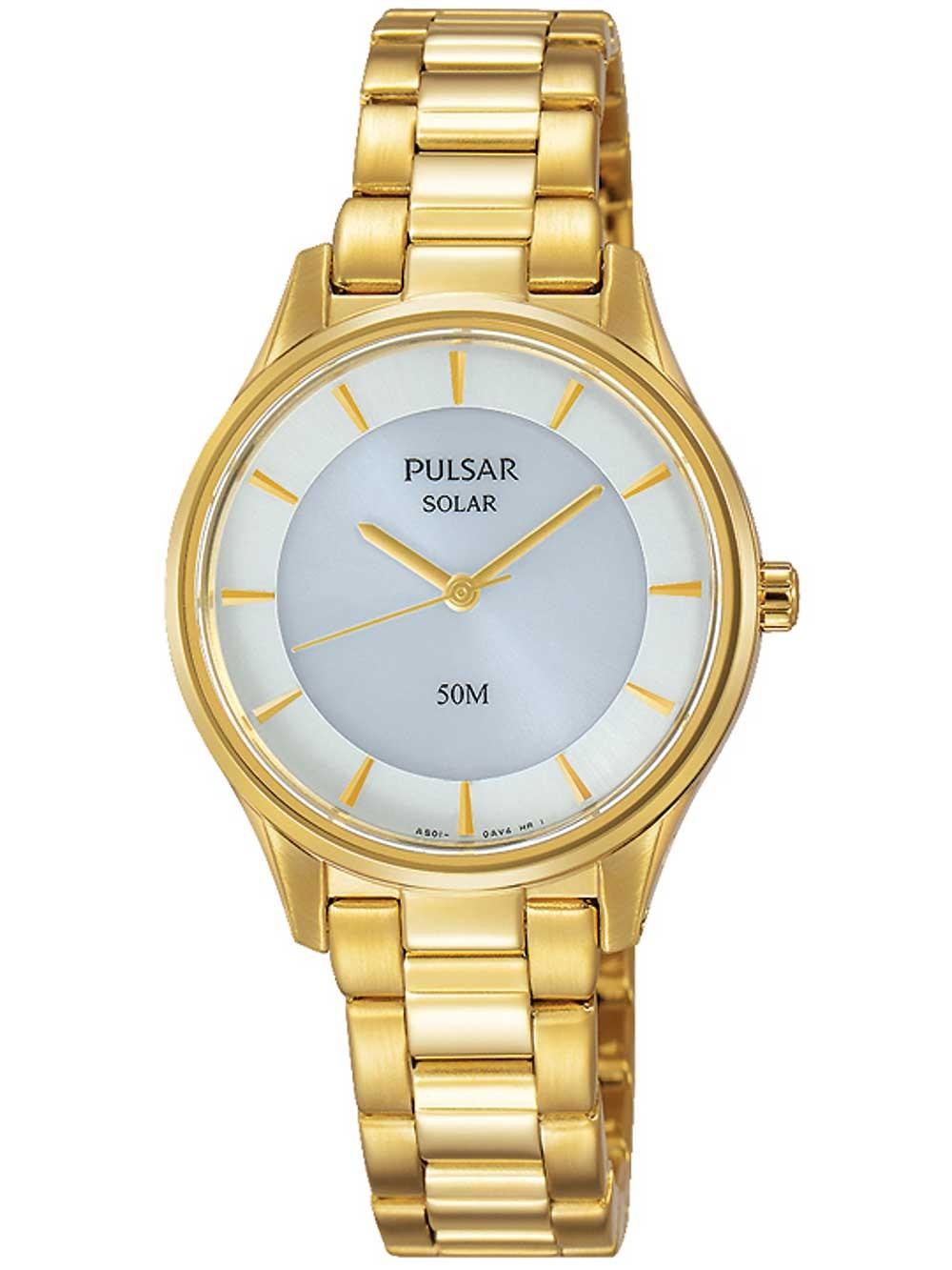 ceas de dama pulsar py5022x1 solar 28mm 5atm