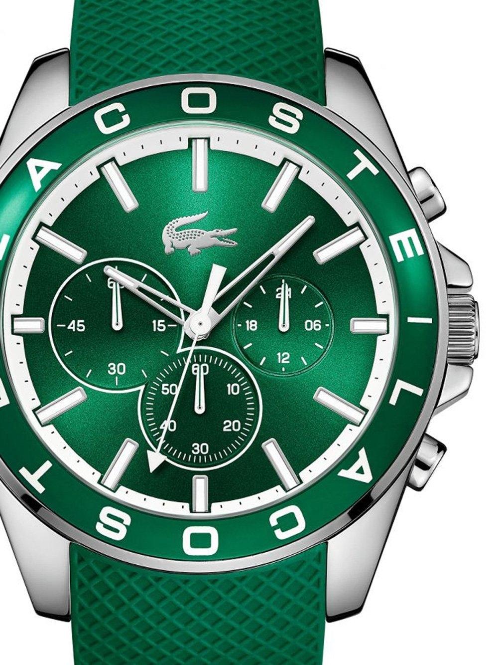 ceas barbatesc lacoste 2010851 westport chrono. 45mm 5atm