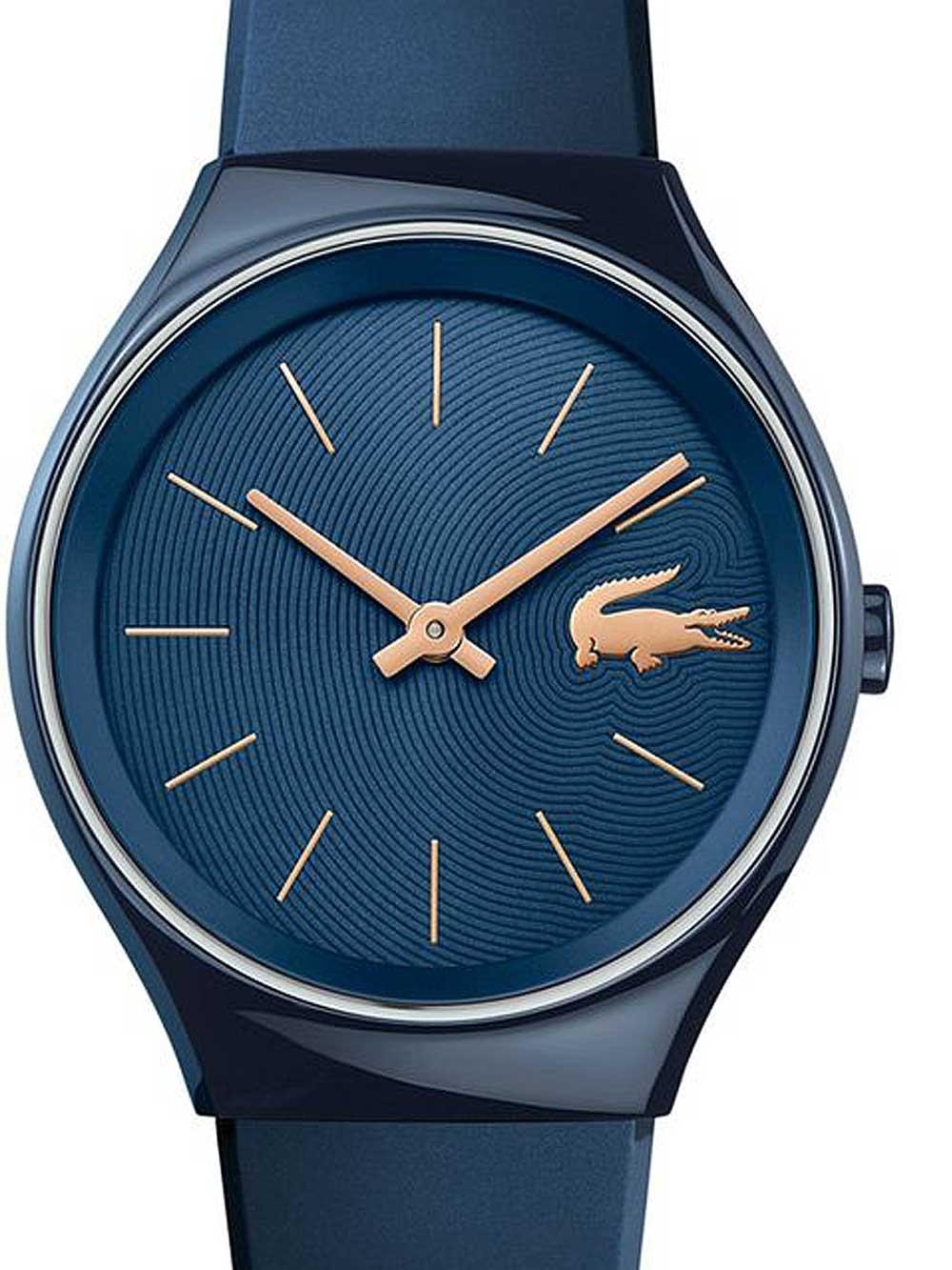 ceas de dama lacoste 2000951 valencia 38mm 3atm