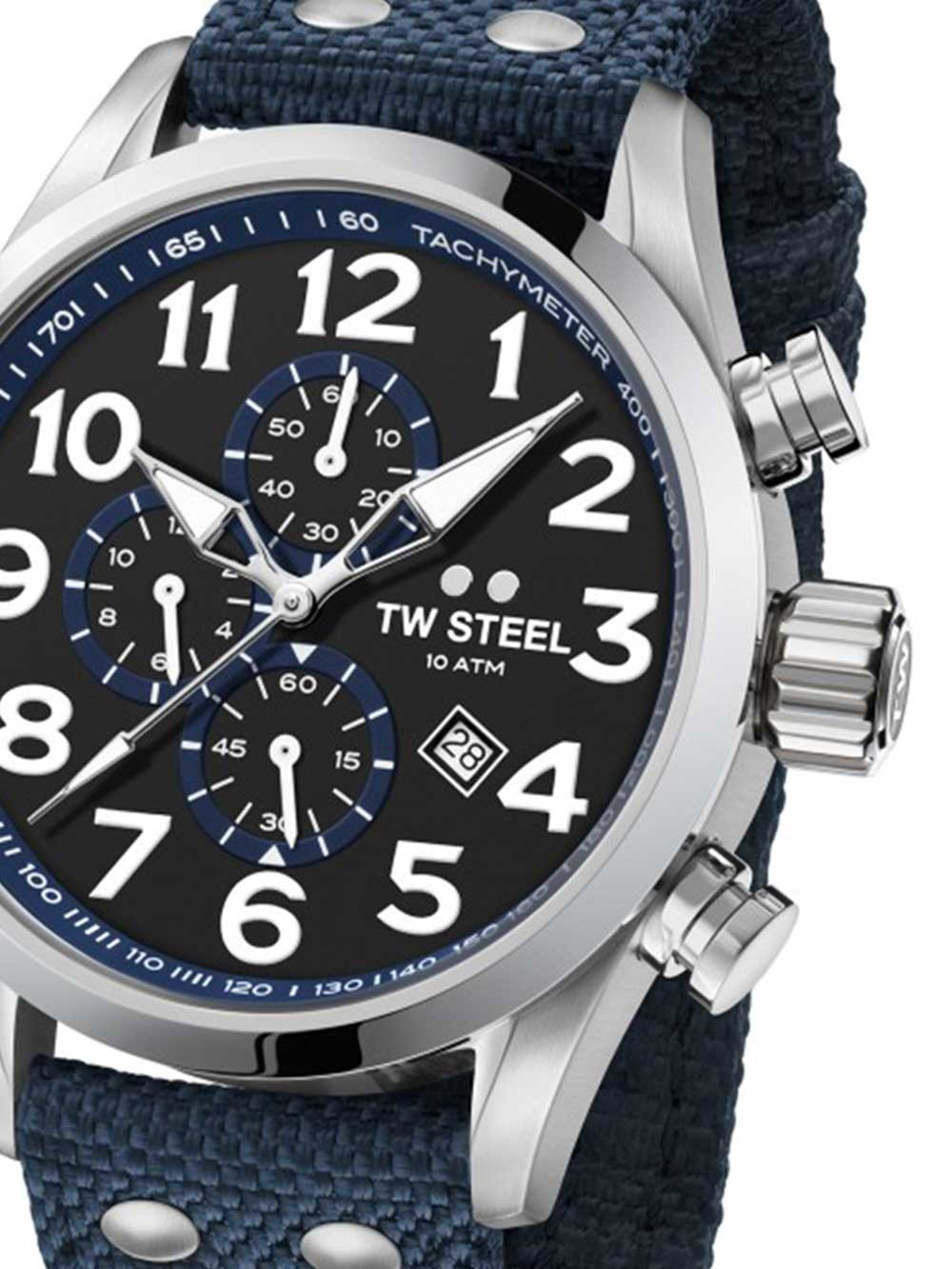 ceas barbati tw-steel vs33 volante chrono 45mm 10atm
