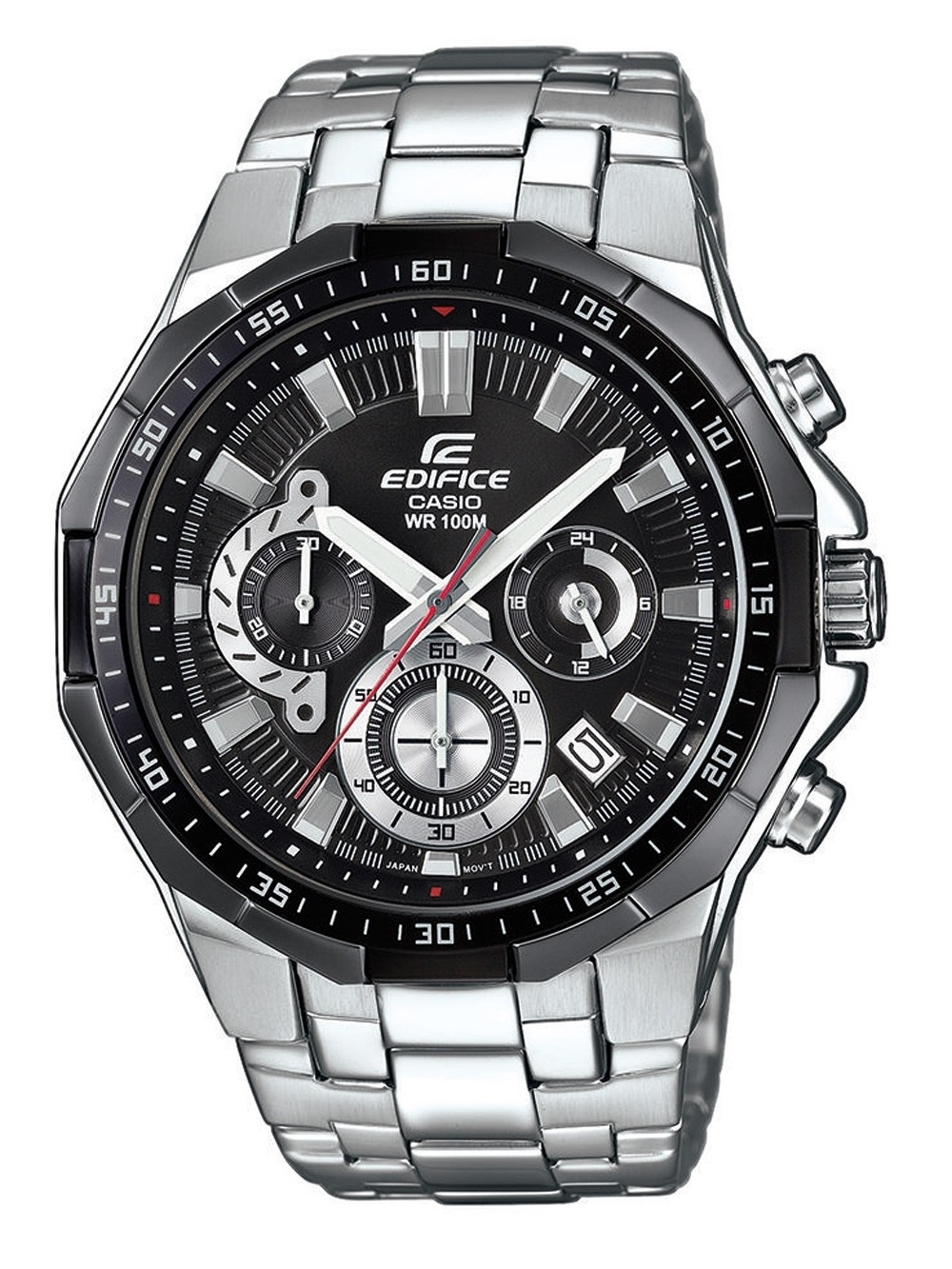 ceas barbatesc casio efr-554d-1avuef edifice chrono. 46mm 10atm