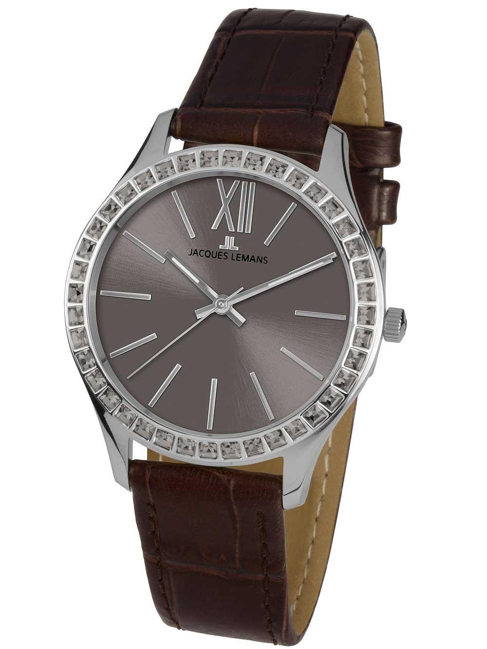 ceas de dama jacques lemans 1-1841l rome 37mm 10atm
