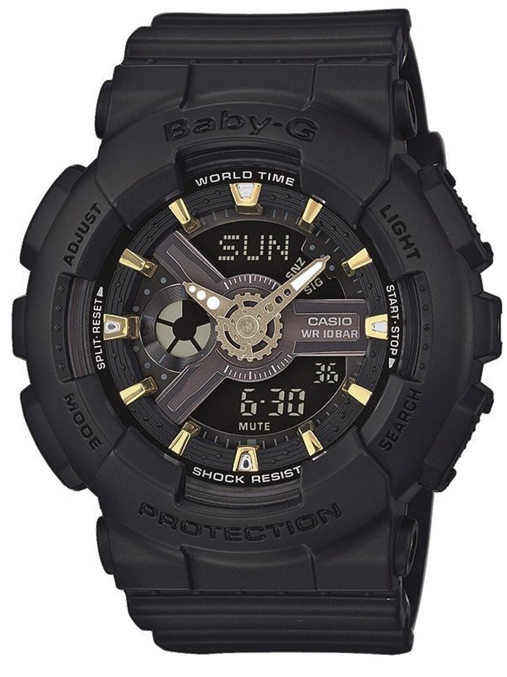 ceas de dama casio ba-110ga-1aer baby-g 43mm 20atm