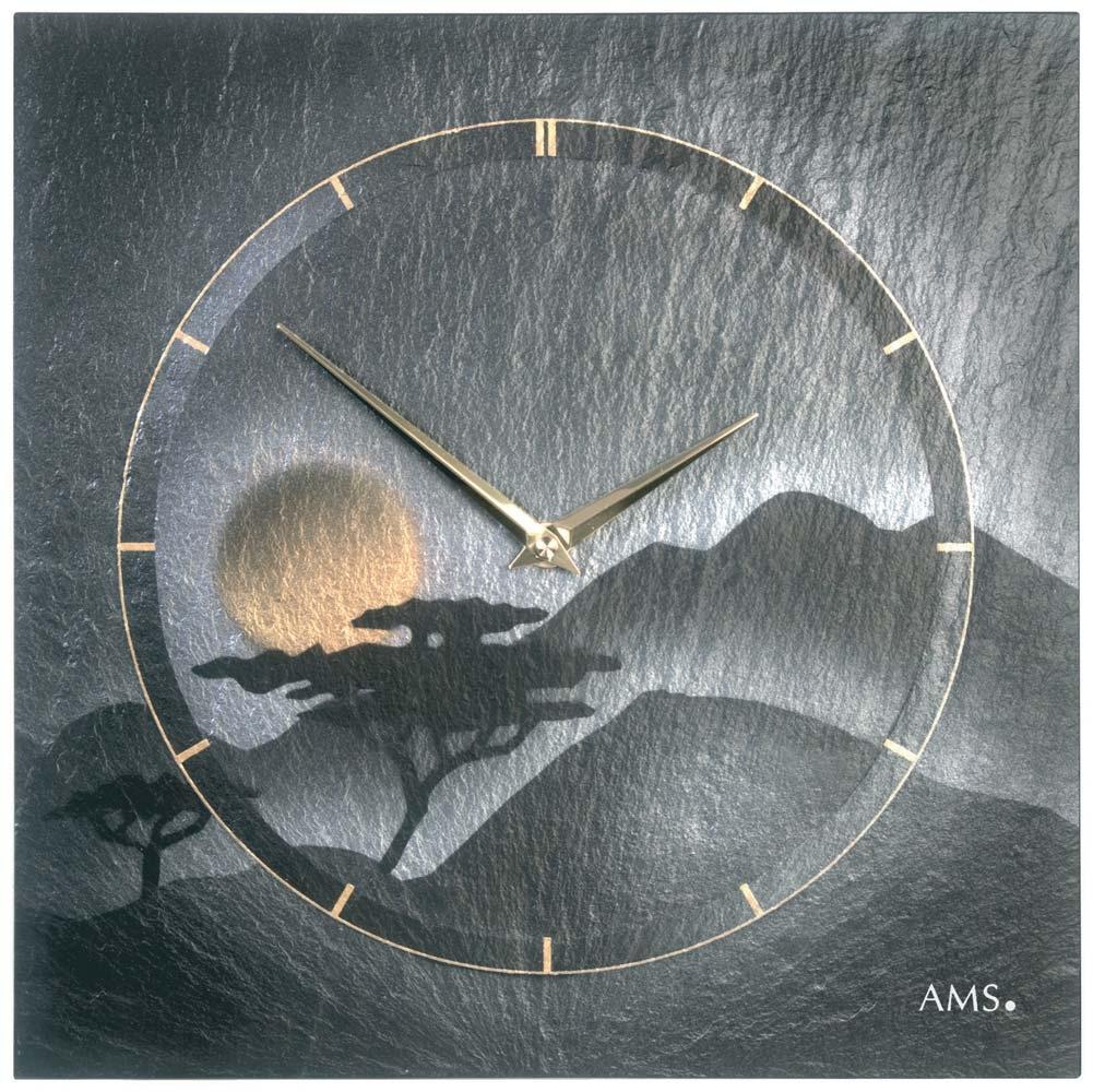 ceas de perete ams 9514