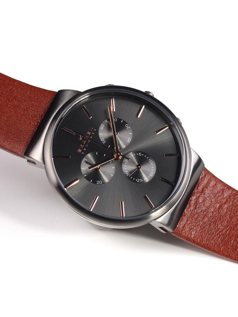 watches chrono12 skagen ancher skw6106 herren. Black Bedroom Furniture Sets. Home Design Ideas