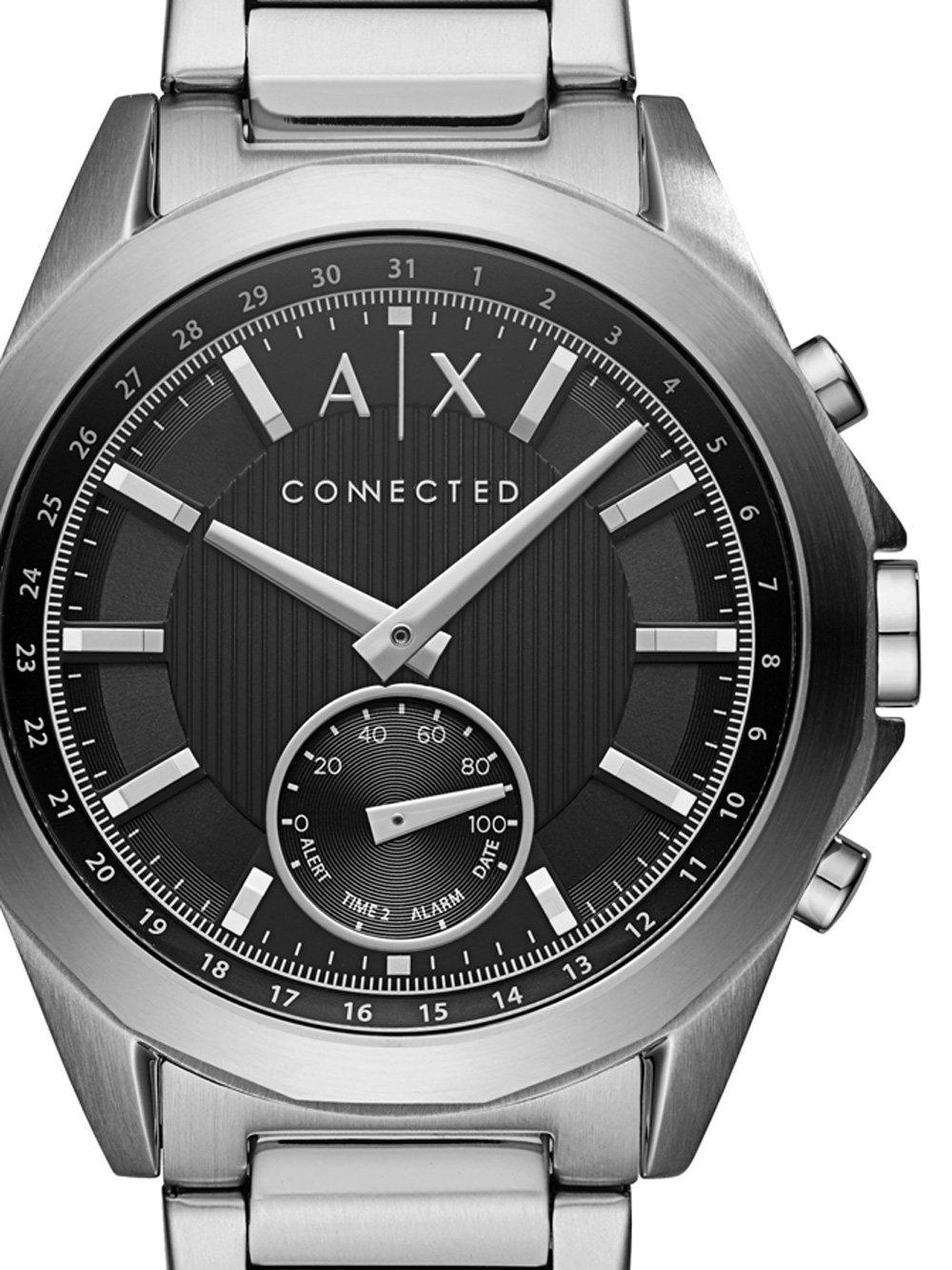 ceas barbatesc armani exchange axt1006 hybrid smartwatch 44mm 5atm