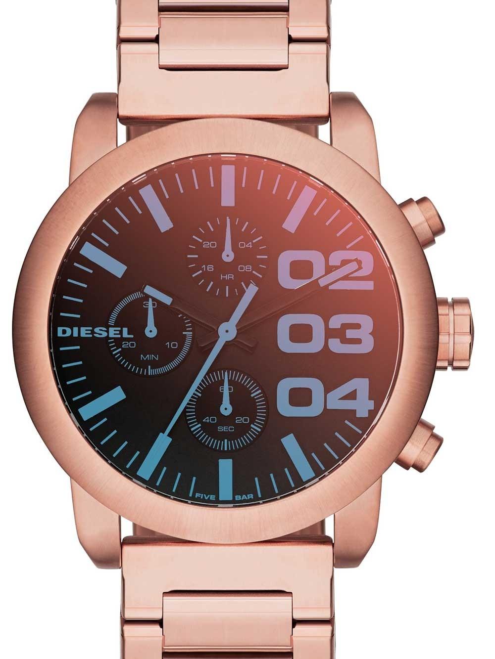 watches chrono12 diesel dz5454 flare chrono damen 40mm