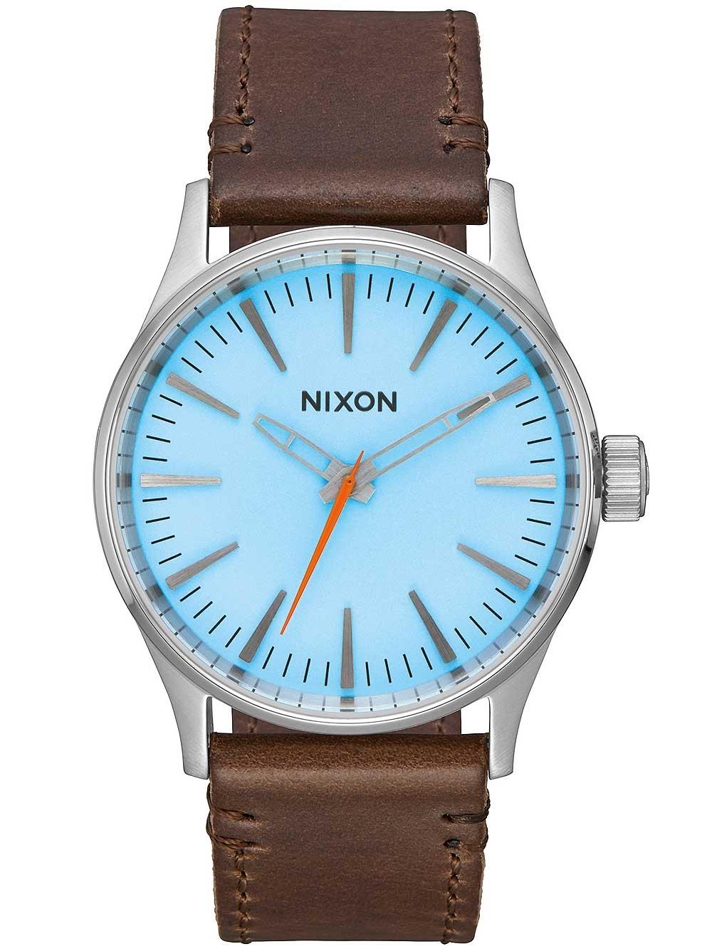 ceas de dama nixon a377-2547 sentry 38mm sky blue taupe 10atm