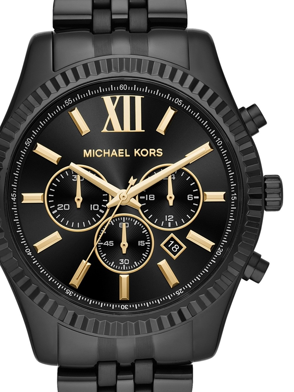 ceas barbatesc michael kors mk8603 lexington chrono. 45mm 10atm