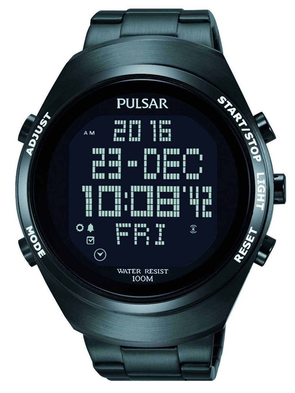 ceas barbati pulsar pq2057x1 digital-chrono 46mm 10atm