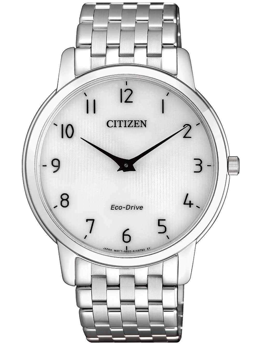 ceas barbatesc citizen ar1130-81a eco-drive stiletto 40mm 3atm