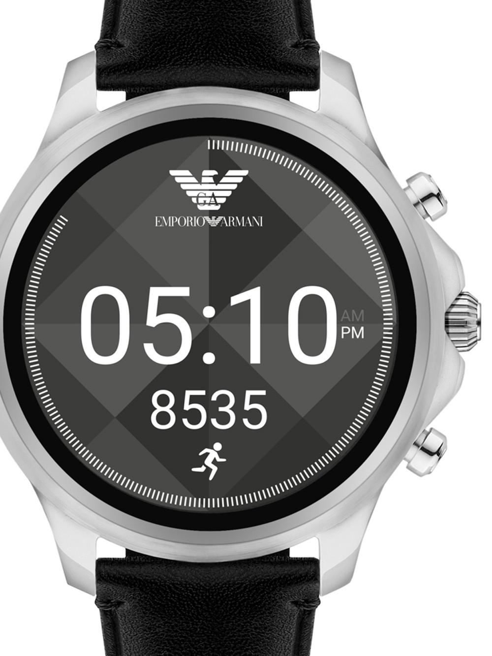 ceas barbatesc emporio armani art5003 alberto connected smartwatch 46mm 3atm