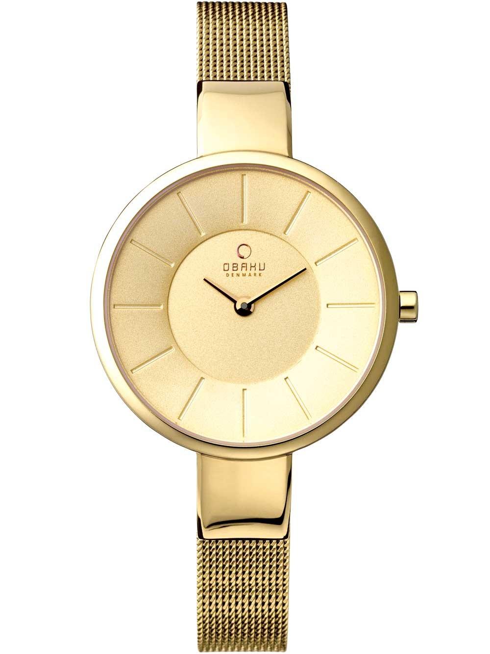 ceas de dama obaku v149lxggmg 32mm 3atm