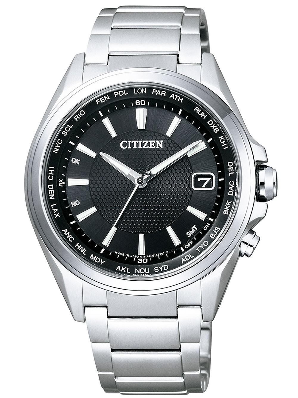 ceas barbatesc citizen cb1070-56e eco-drive titan 42mm 10atm