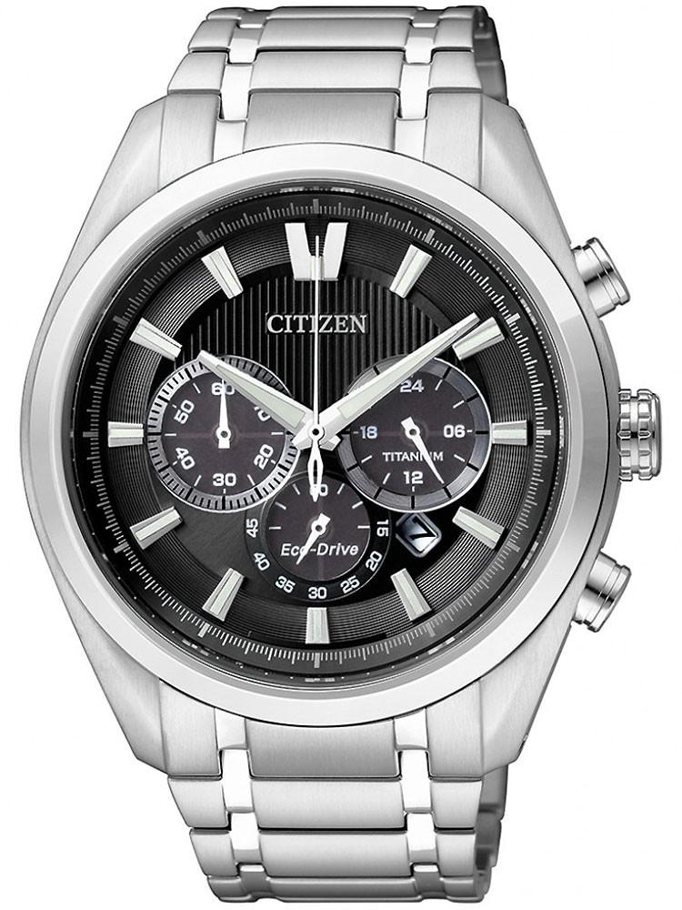 ceas barbatesc citizen eco-drive super titan chrono ca4010-58e 43 mm 100m
