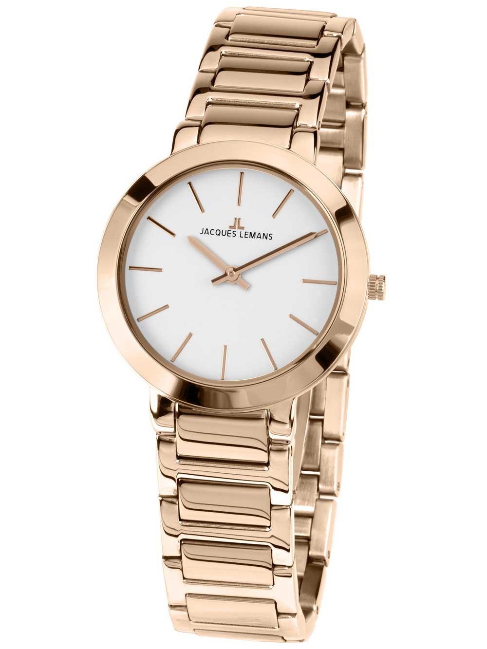 ceas de dama jacques lemans 1-1842c milano 32mm 5atm