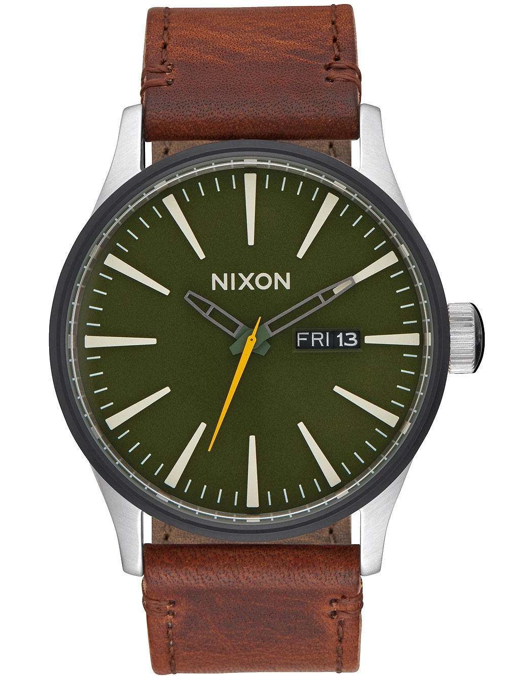ceas barbatesc nixon a105-2334 sentry 42mm 10atm