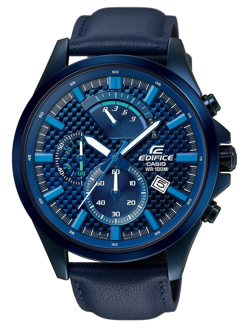 Ceas barbatesc Casio EFV-530BL-2AVUEF Edifice Chrono. 45mm 10ATM