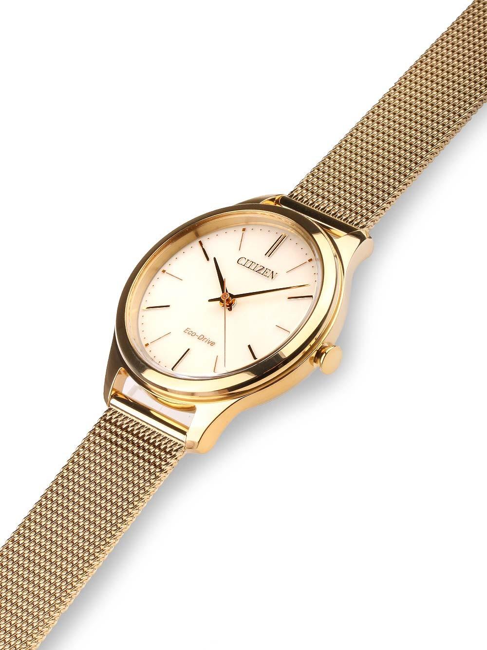 watches chrono12 citizen em0502 86p eco drive elegant damen 32mm 5atm. Black Bedroom Furniture Sets. Home Design Ideas