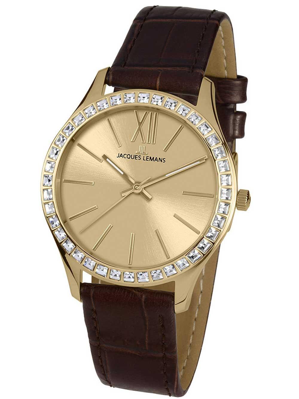 ceas de dama jacques lemans 1-1841c rome 37mm 10atm