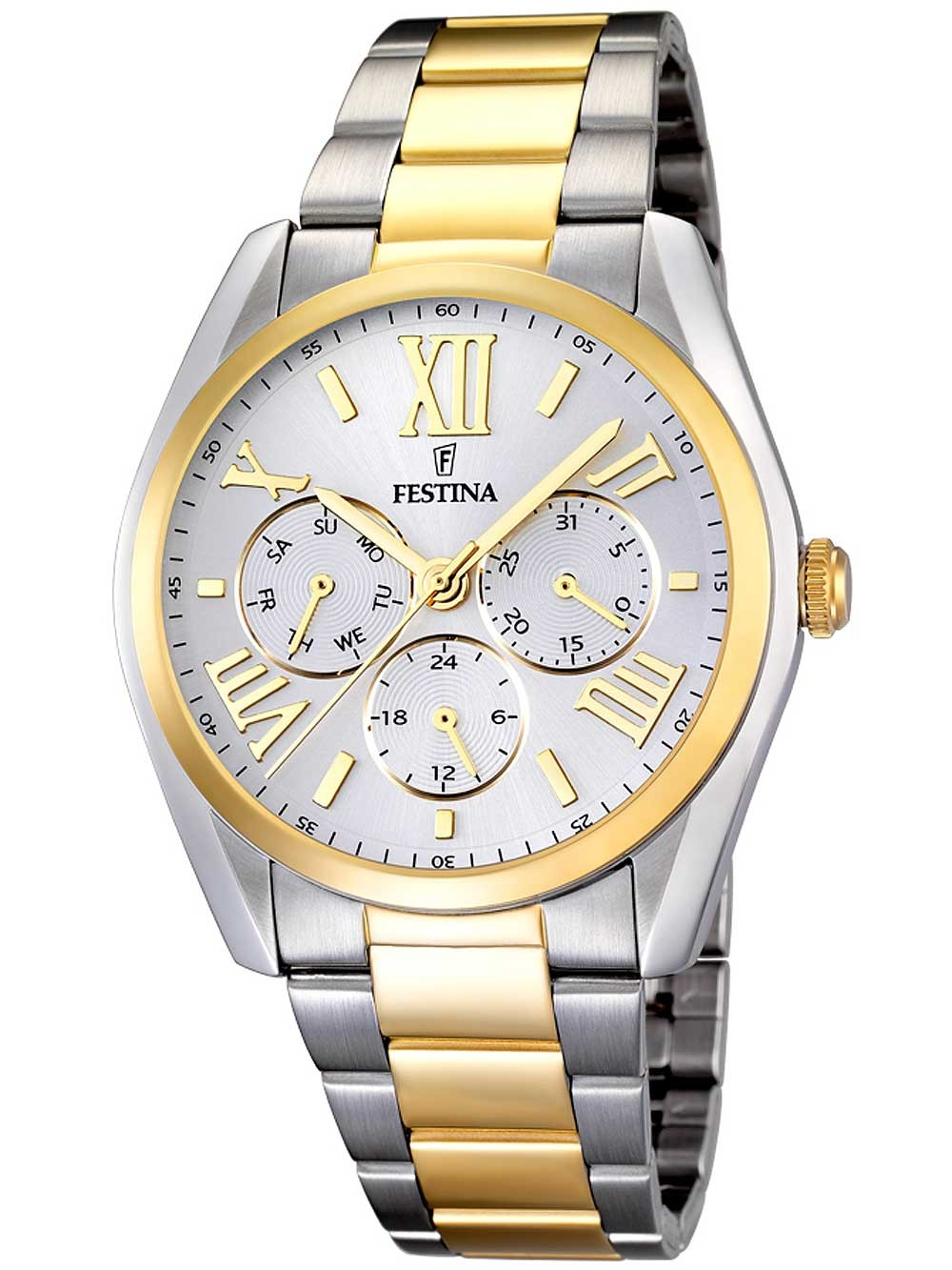 festina f16751/1 multifunktion damen 40mm 5atm