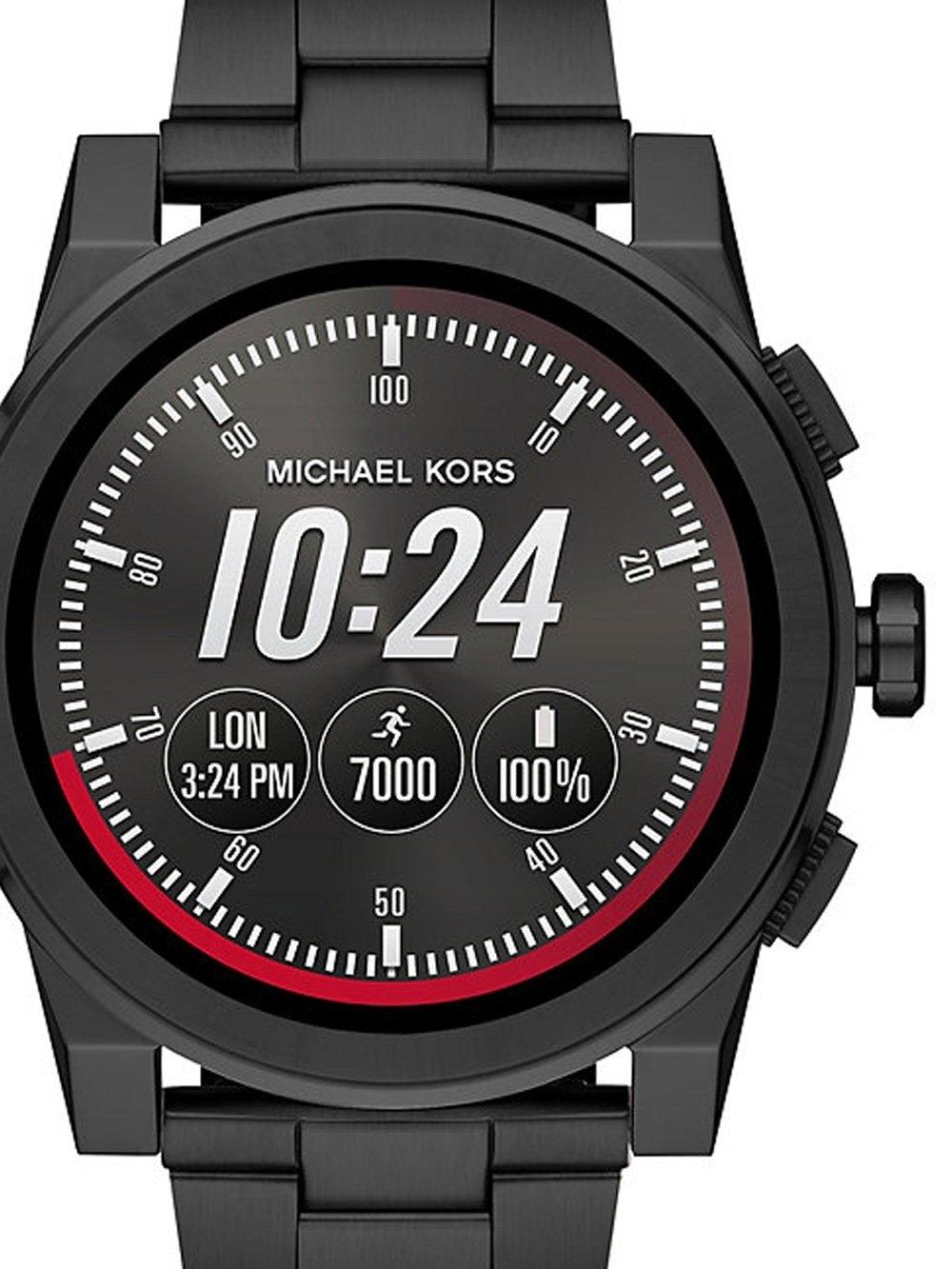 ceas barbatesc michael kors mkt5029 grayson access smartwatch 47mm 3atm