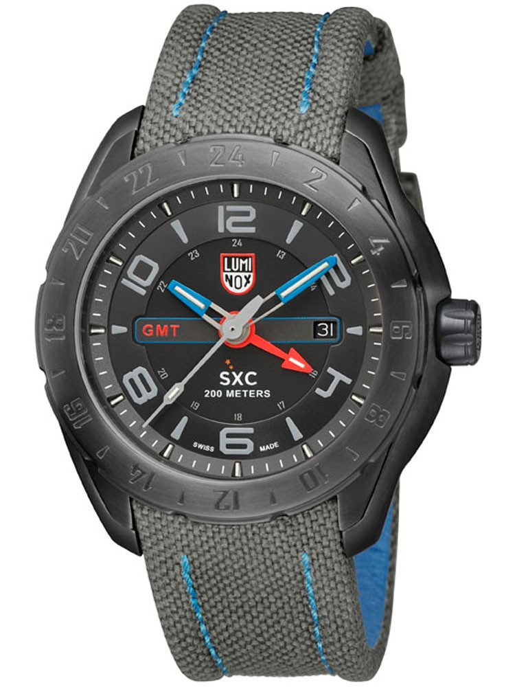 Ceas barbatesc Luminox SXC PC GMT 5120 SPACE SERIES A.5121.GN 45 mm 20 ATM