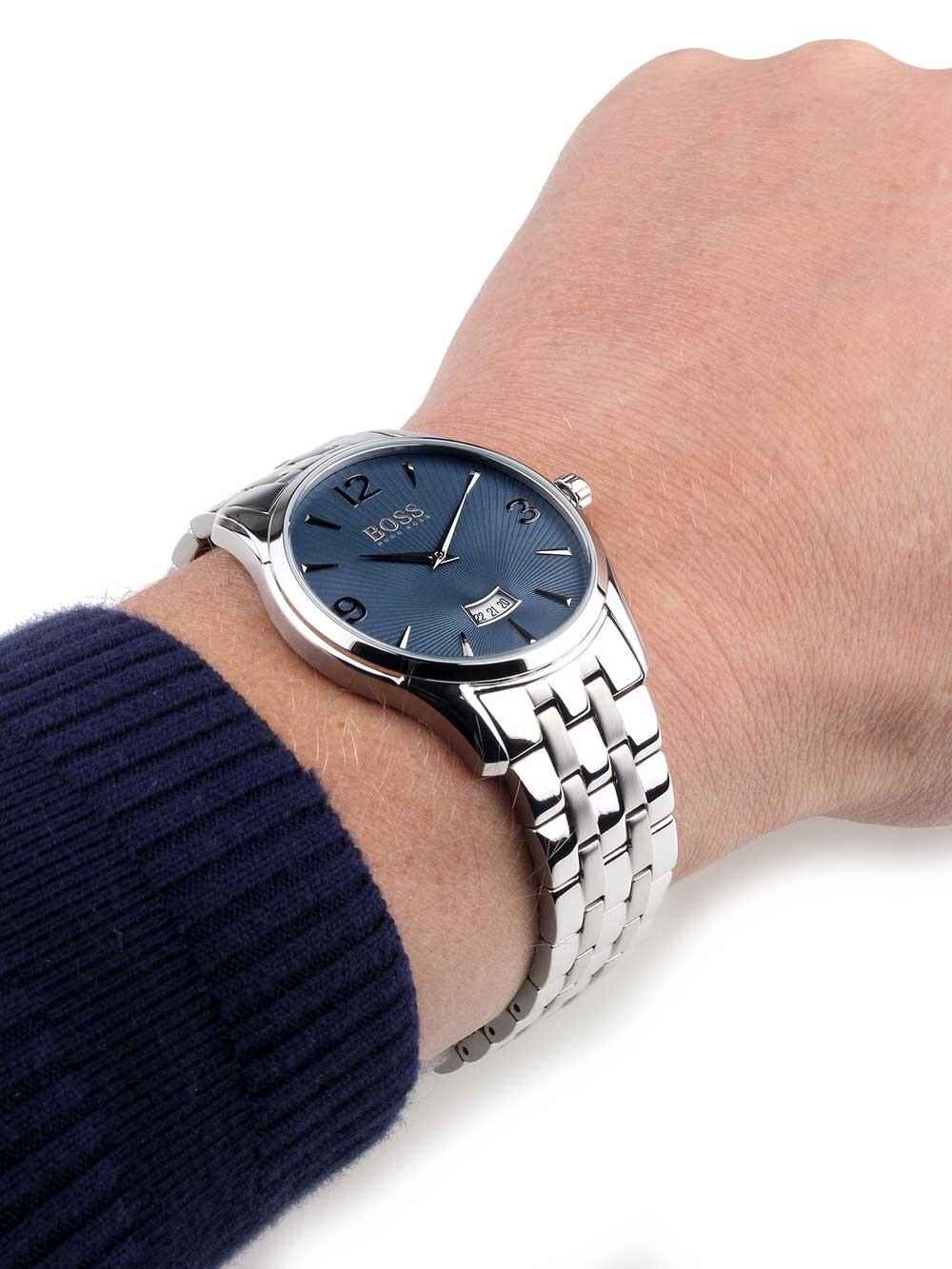 watches chrono12 hugo boss 1513428 commander herren. Black Bedroom Furniture Sets. Home Design Ideas