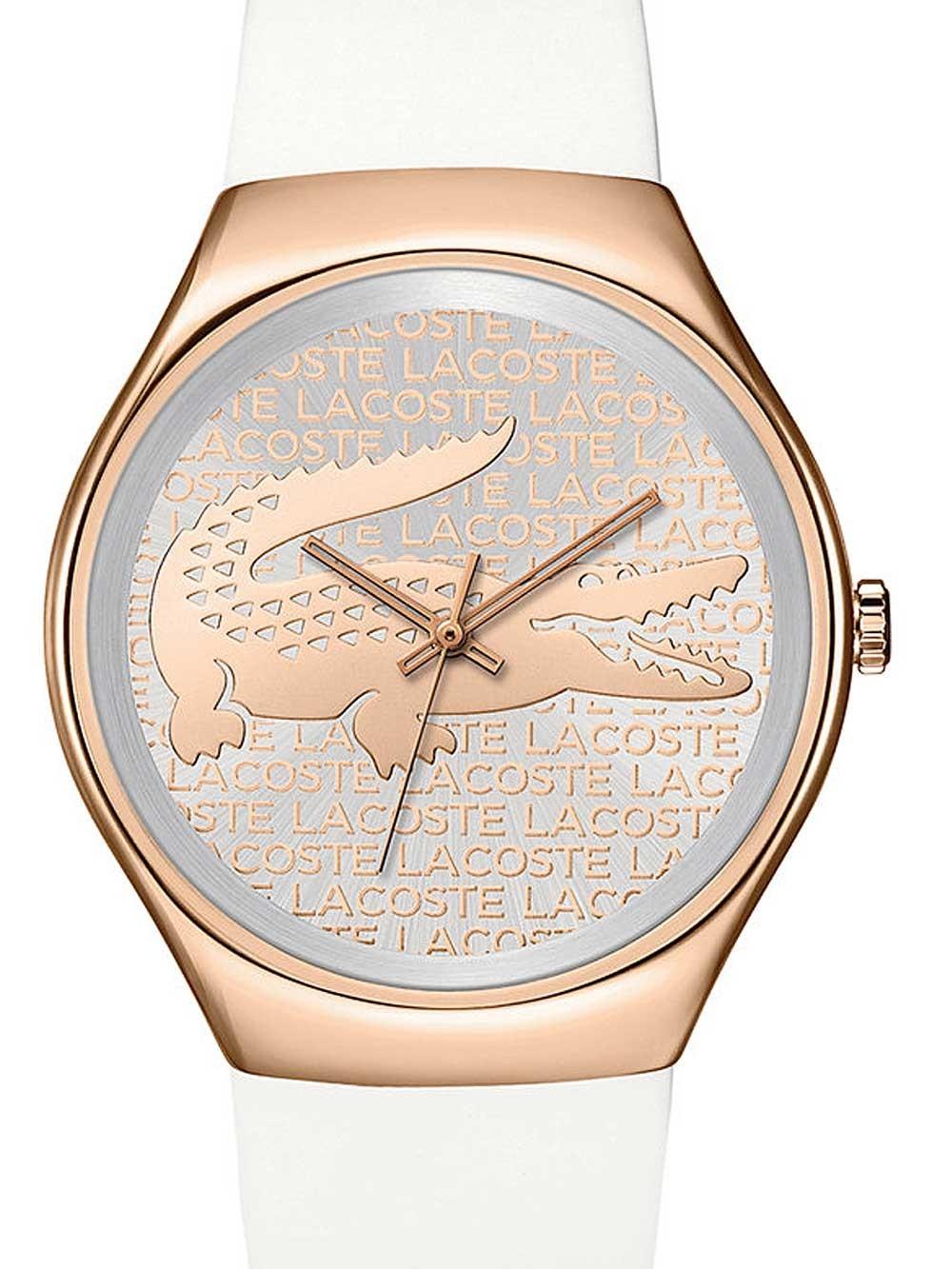 ceas de dama lacoste 2000809 valencia 38mm 3atm