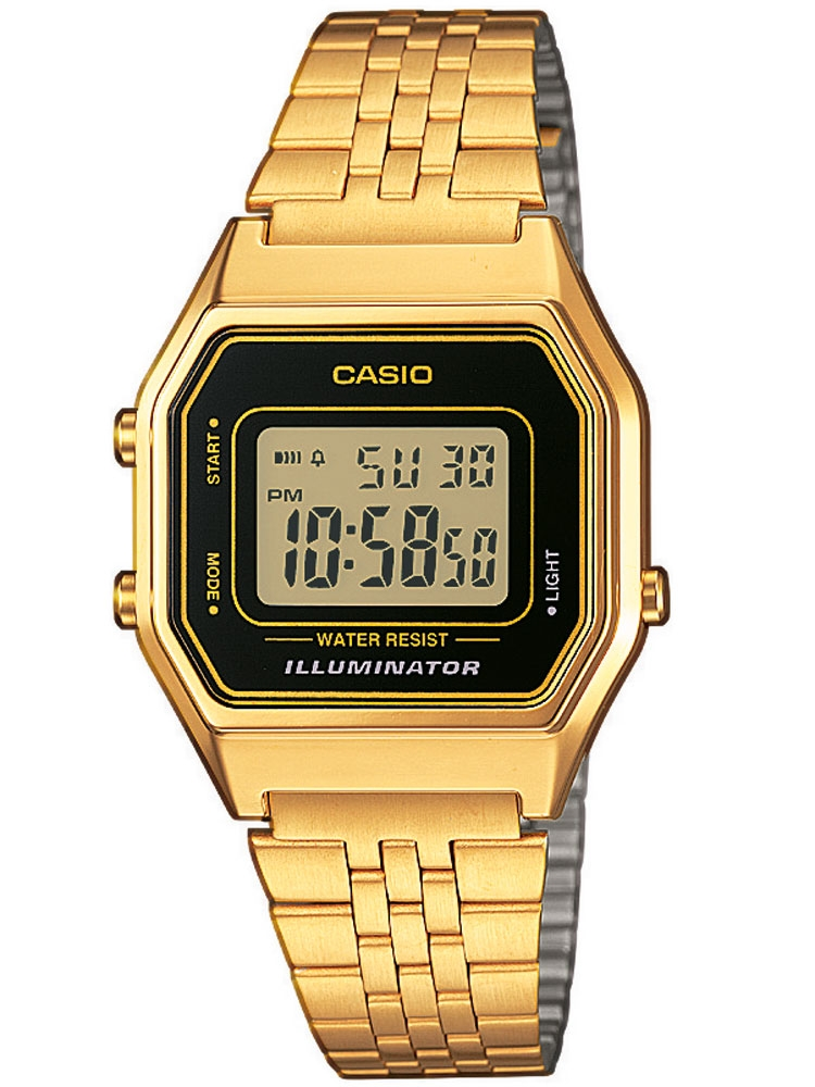 ceas barbatesc casio la680wega-1er unisex collection 3 atm 28 mm