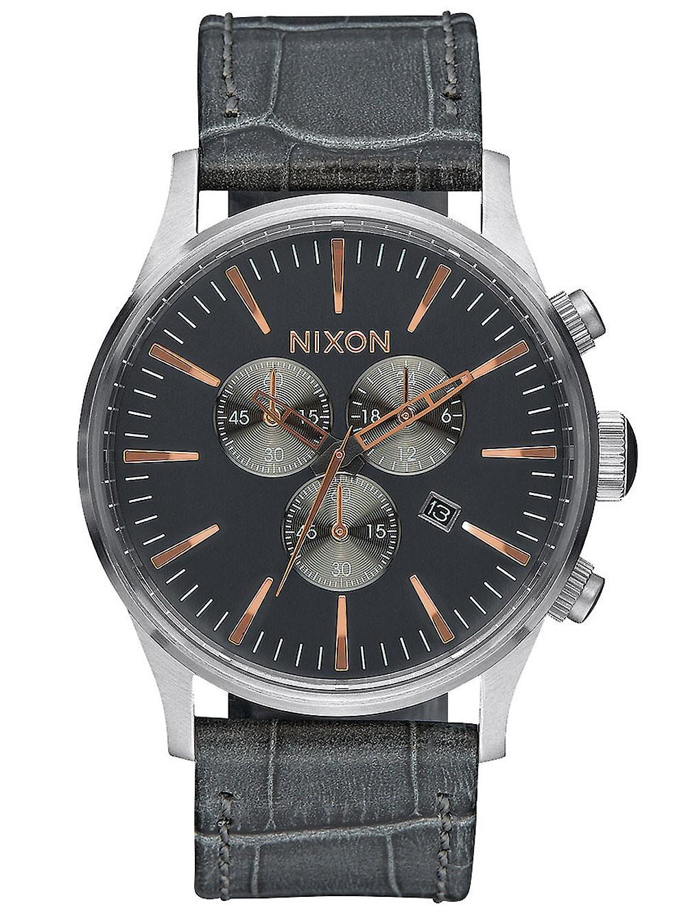 ceas barbatesc nixon a405-2145 sentry chrono 42mm 10atm