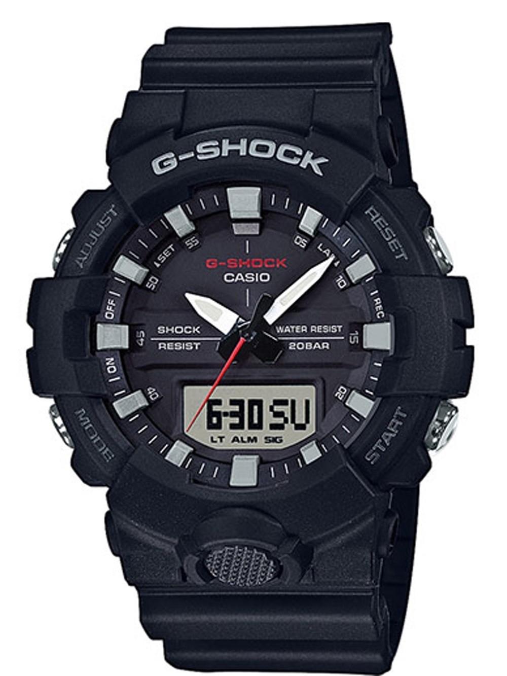 watches chrono12 casio ga 800 1aer g shock herren 48mm. Black Bedroom Furniture Sets. Home Design Ideas