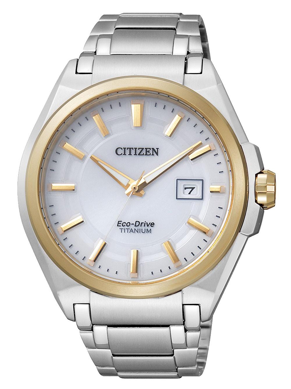 ceas barbatesc citizen bm6935-53a super titan 10atm 42mm