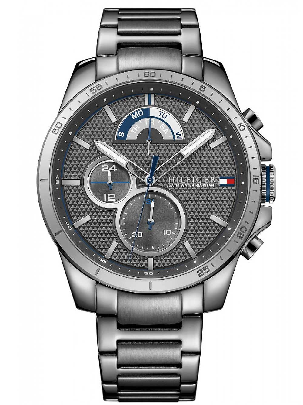 watches chrono12 tommy hilfiger 1791347 multif herren. Black Bedroom Furniture Sets. Home Design Ideas