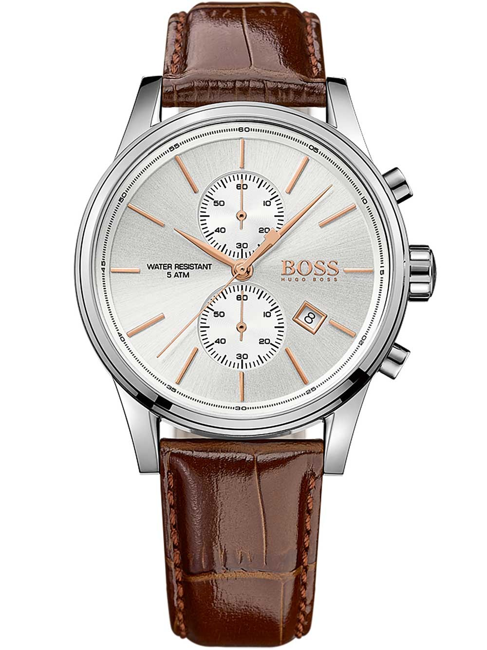 ceas barbatesc hugo boss 1513280 jet cronograf 5atm 42mm
