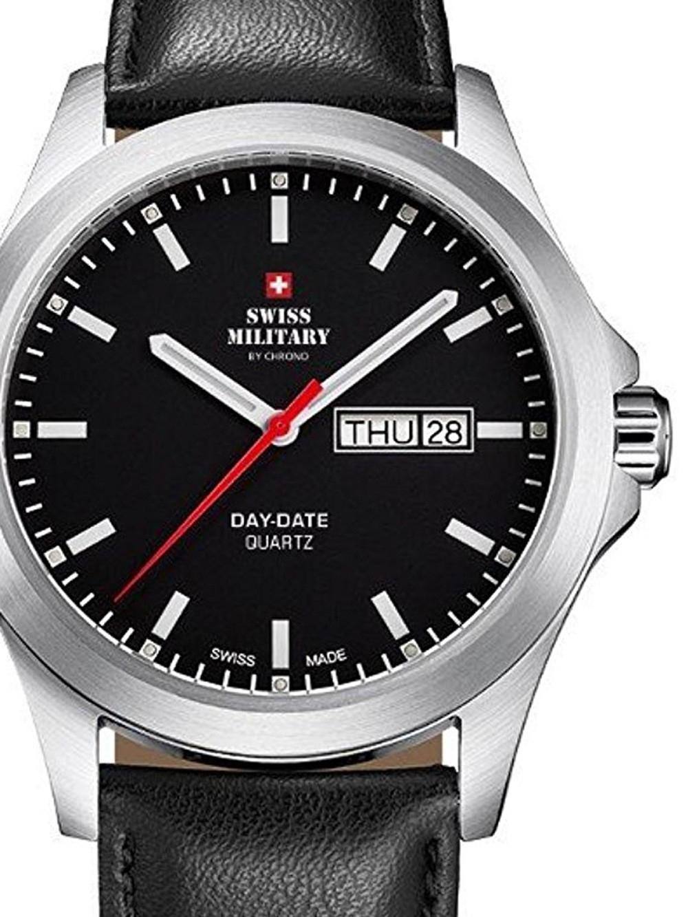 ceas barbatesc swiss military smp36040.11 42mm 5atm