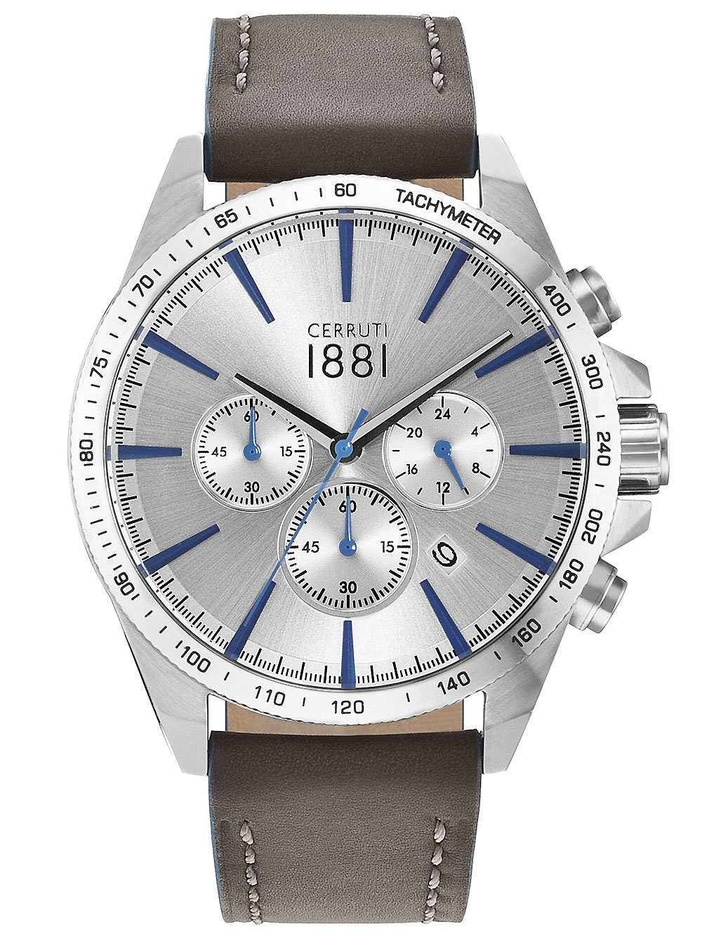 ceas barbatesc cerruti cra126sn04gy conero cronograf 44mm 5atm