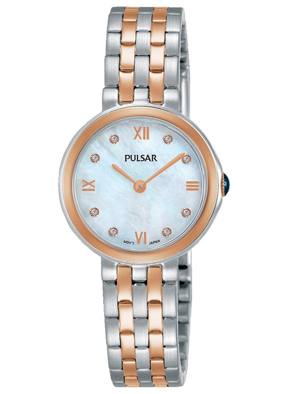 ceas de dama pulsar pm2246x1 klassik 26mm 5atm