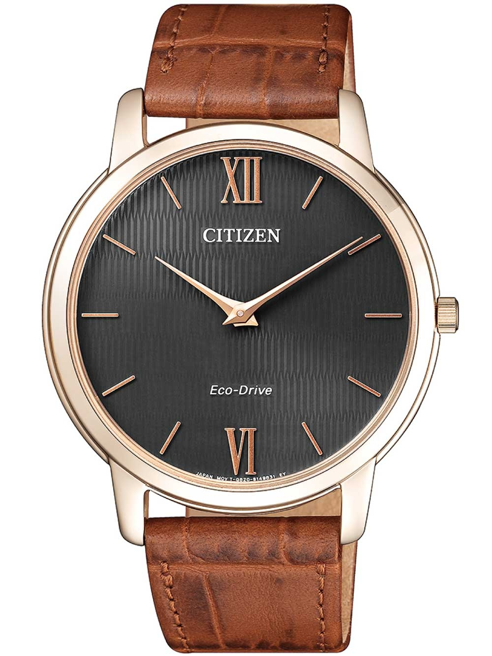 ceas barbatesc citizen ar1133-15h eco-drive stiletto 40mm 3atm