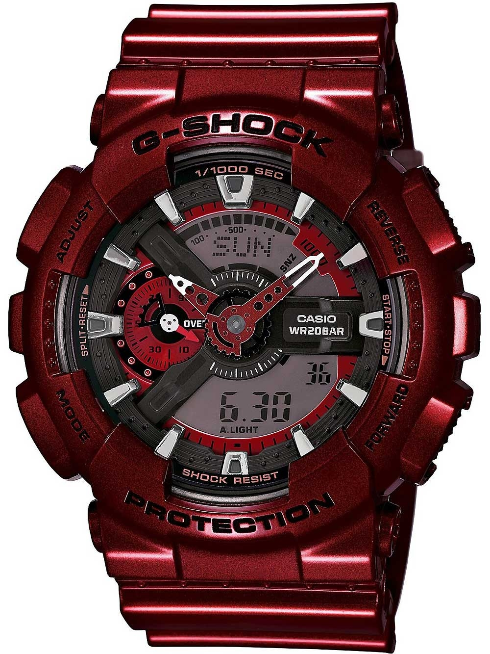 ceas barbatesc casio ga-110nm-4aer g-shock 47mm 20atm