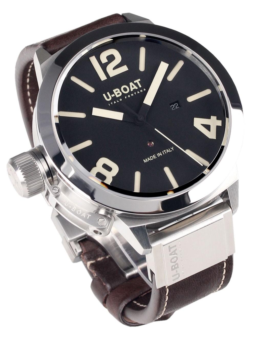 ceas barbatesc u-boat classico 7120 automat 53 mm