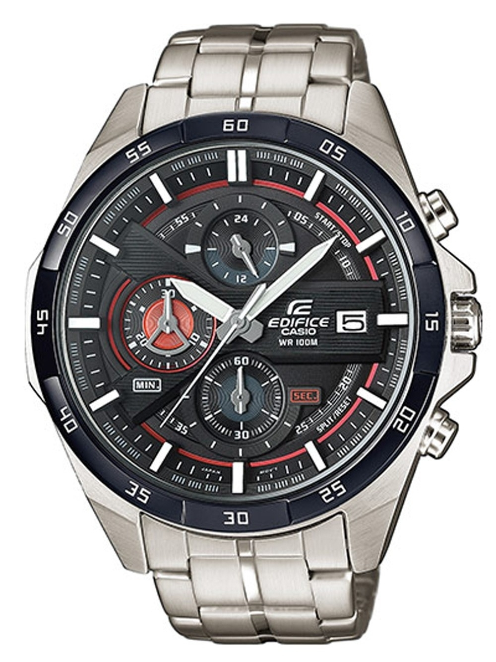 ceas barbatesc casio efr-556db-1avuef edifice chrono. 46mm 10atm