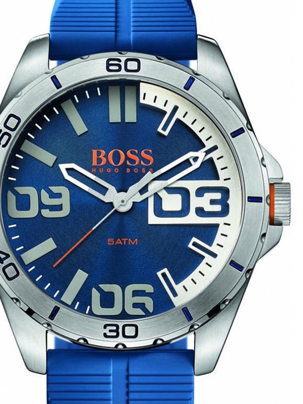 ceas barbatesc boss orange 1513286 berlin 48mm 5atm
