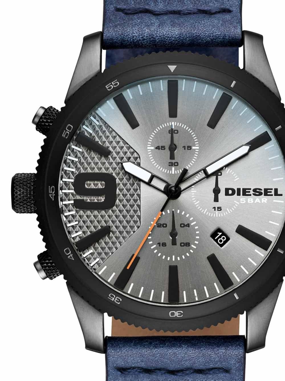 Ceas barbatesc Diesel DZ4456 Rasp Chrono 46mm 5ATM