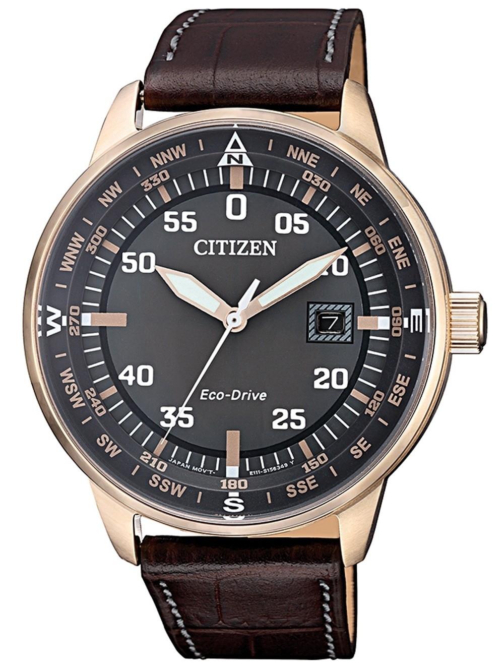 ceas barbatesc citizen bm7393-16h eco-drive 42mm 10atm